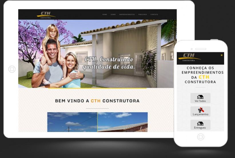 websites - Criação site da Construtora CTH