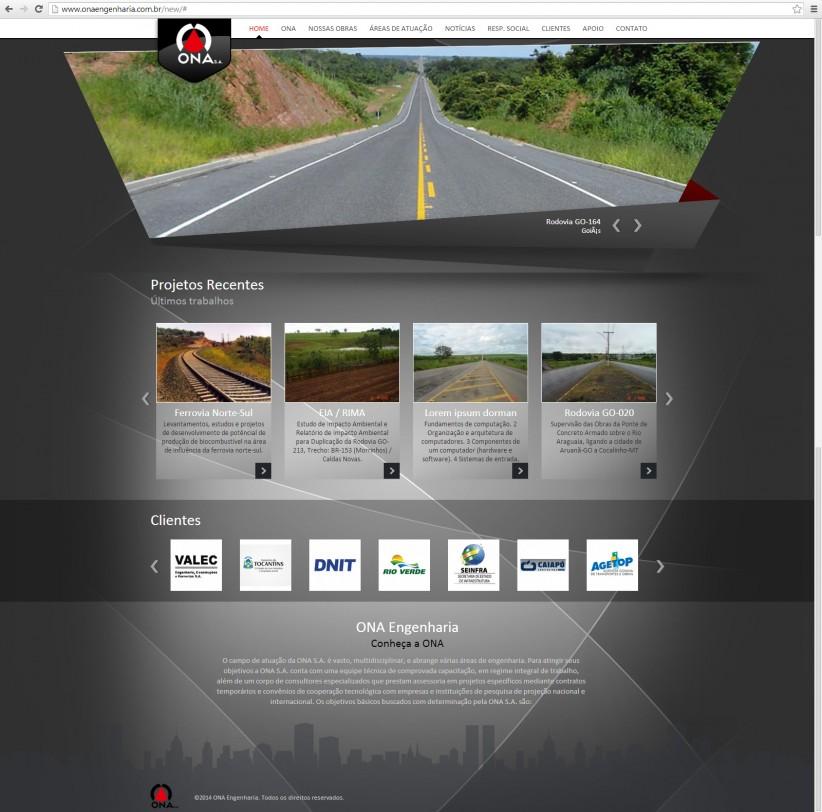 websites - Ona Engenharia