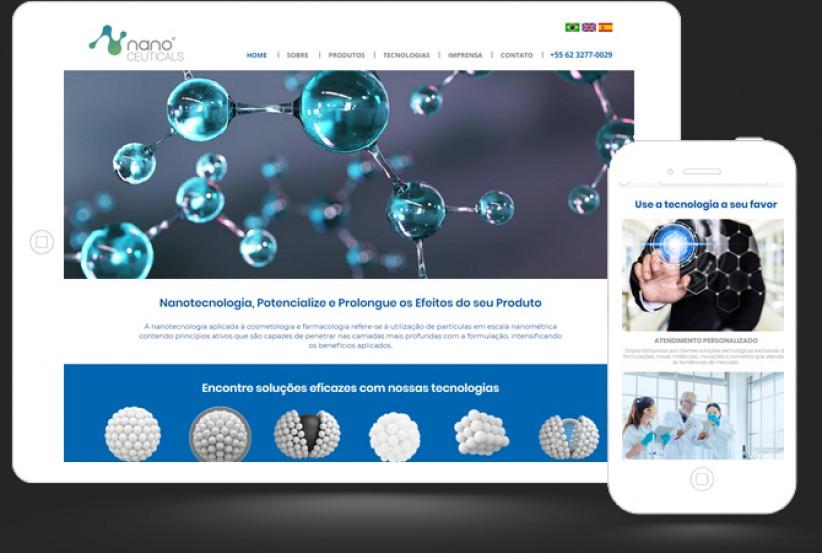 websites - Criação Site Nano Ceuticals