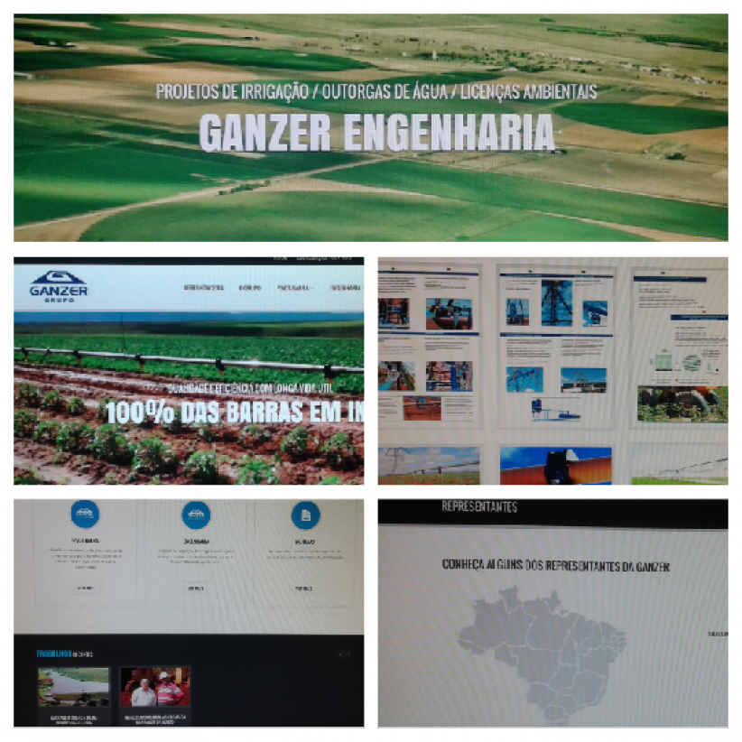 websites - Site Grupo Ganzer