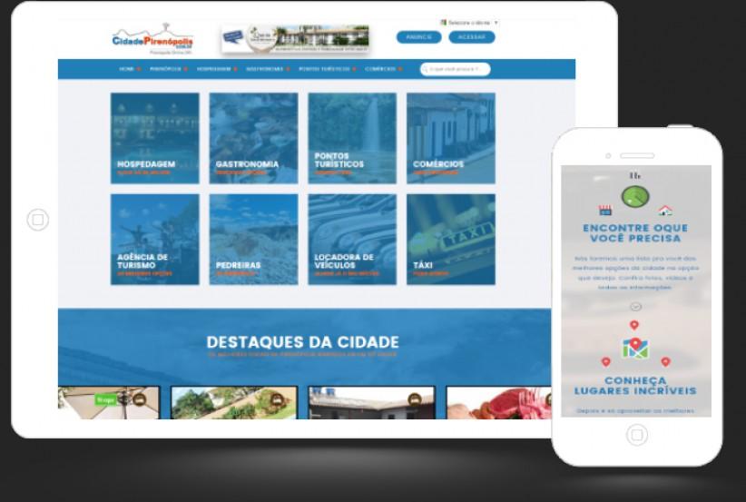 websites - Criação Portal de Anúncios Cidade Pirenópolis