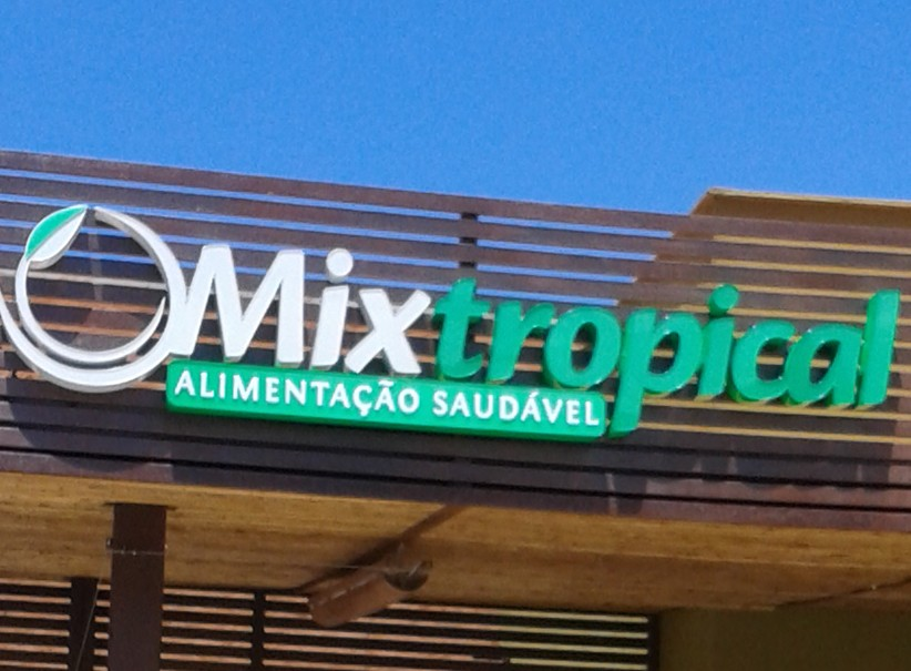 logotipos - Desenvolvimento Logomarca Restaurante Mix Tropical