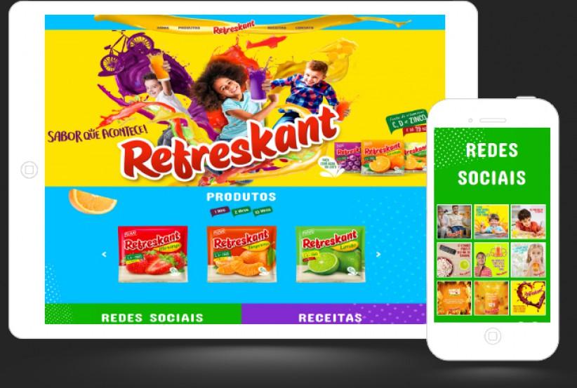 websites - Criação site Refreskant