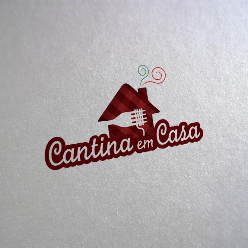 logotipos - Logotipo Cantina em Casa Delivery