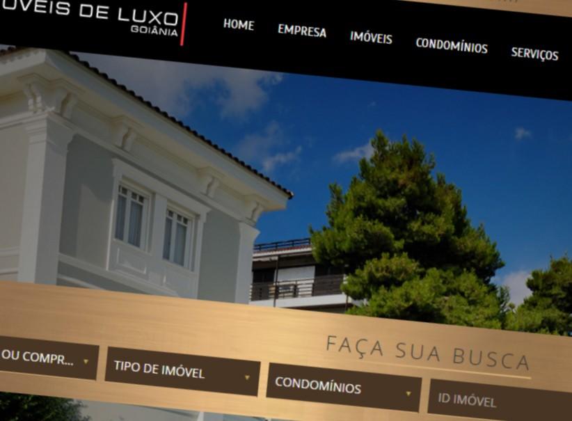 websites - Criação Site Imóveis de luxo