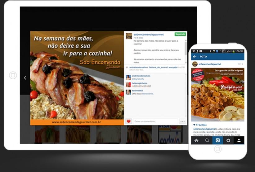 marketing digital - Gerenciamento Conteúdo Instagram