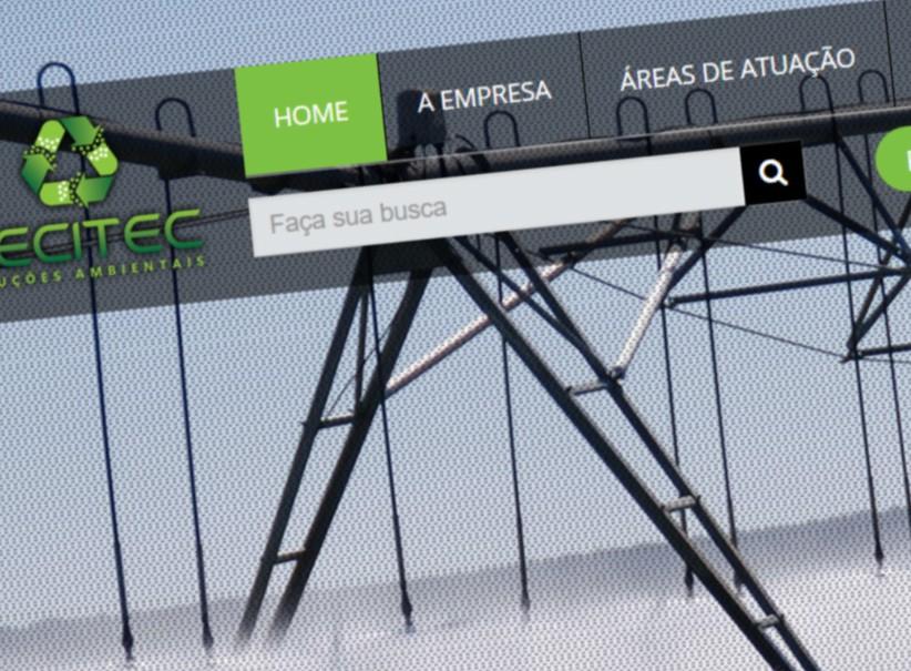 websites - Criação de site Recitec Ambiental