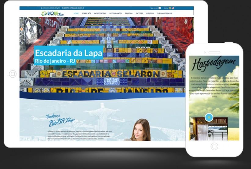 websites - Criação do site da BiobrTur