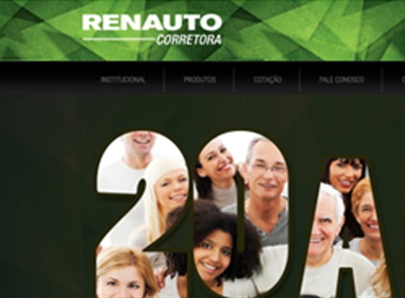 websites - Criação site RENAUTO Corretora