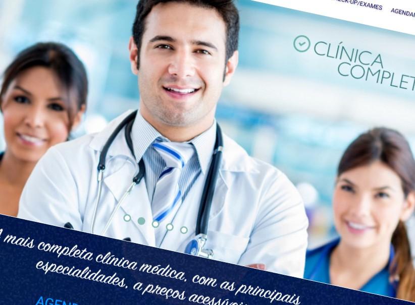 websites - Criação site CLINICA DR+FÁCIL