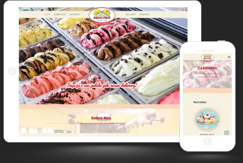 websites - Criação site e sistema de delivery